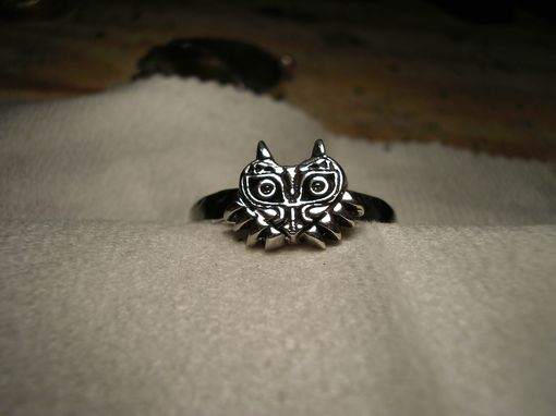 Custom Made Majora Mask Ring Inspired By Zelda