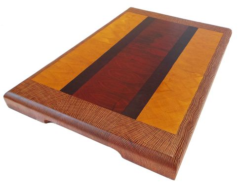 Custom Made Simple And Elegant Exotic Woof Cutting Board