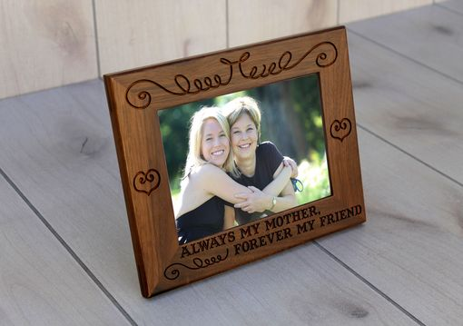 Custom Made Custom Engraved Picture Frames -- Pf-Wal-Always Mother