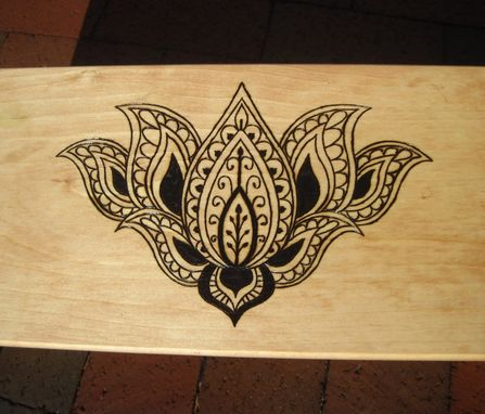 Custom Made Eastern Lotus Meditation Bench