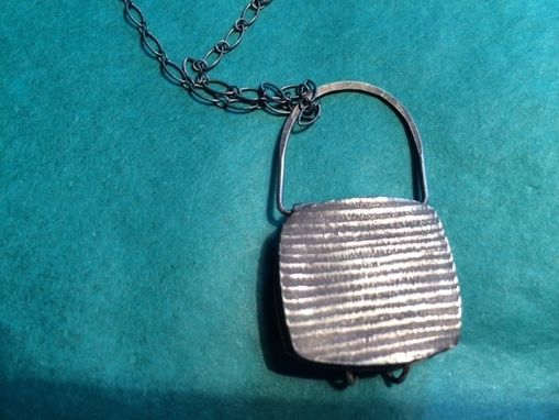 Custom Made Sterling Silver Locket With Clasp