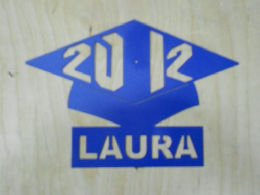 Custom Made Graduation Hat Made From Metal Personalized