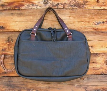 Custom Made Leather Brief Bag/Case