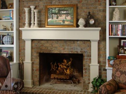 Custom fireplace mantel by alan harp design custommade fireplace mantel custom made fireplace mantel teraionfo