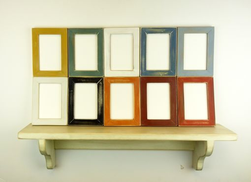 Custom Made Handmade Photo Frames - Wall Decor - Handpainted Milk Paint Eco Friendly Picture Frames