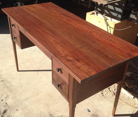 Custom Made Black Walnut Desk (Ask About 'Green Piece' Option)