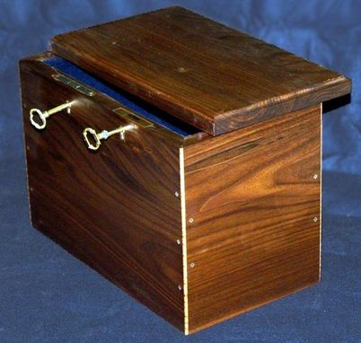 Custom Made Three Lock Box