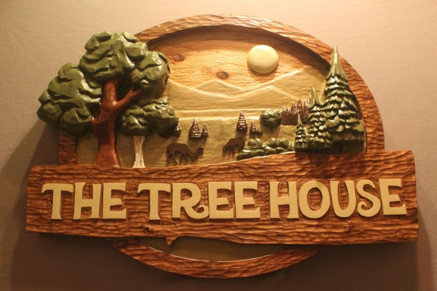 Handmade Cabin Signs House Signs Tree House Signs By