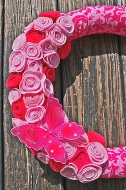 Custom Made Pink Kid's Wreath