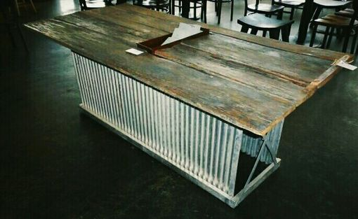 Custom Made Tennessee Trough Table