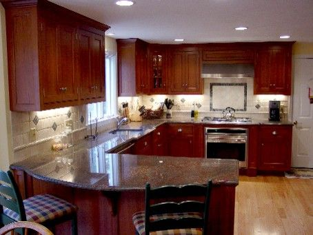 Custom Made Timeless Cherry Kitchen