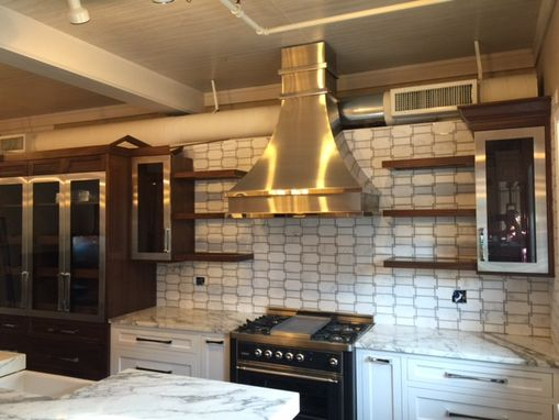 Custom Made #12 Stainless Steel Range Hood