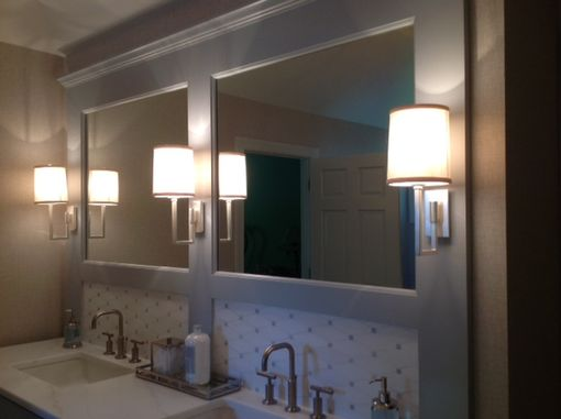 Custom Made Painted Vanities With Mirror