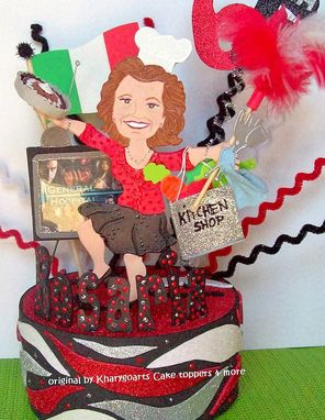 Custom Made Chef Birthday Cake Topper Look Alike, Baker Birthday Cake Topper