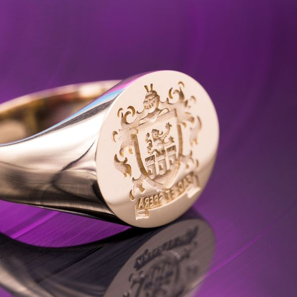 Custom Signet Rings Family Crest Rings Amp Coat Of Arms