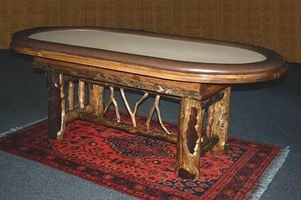 Custom Made Texas Hold 'Em Poker Table