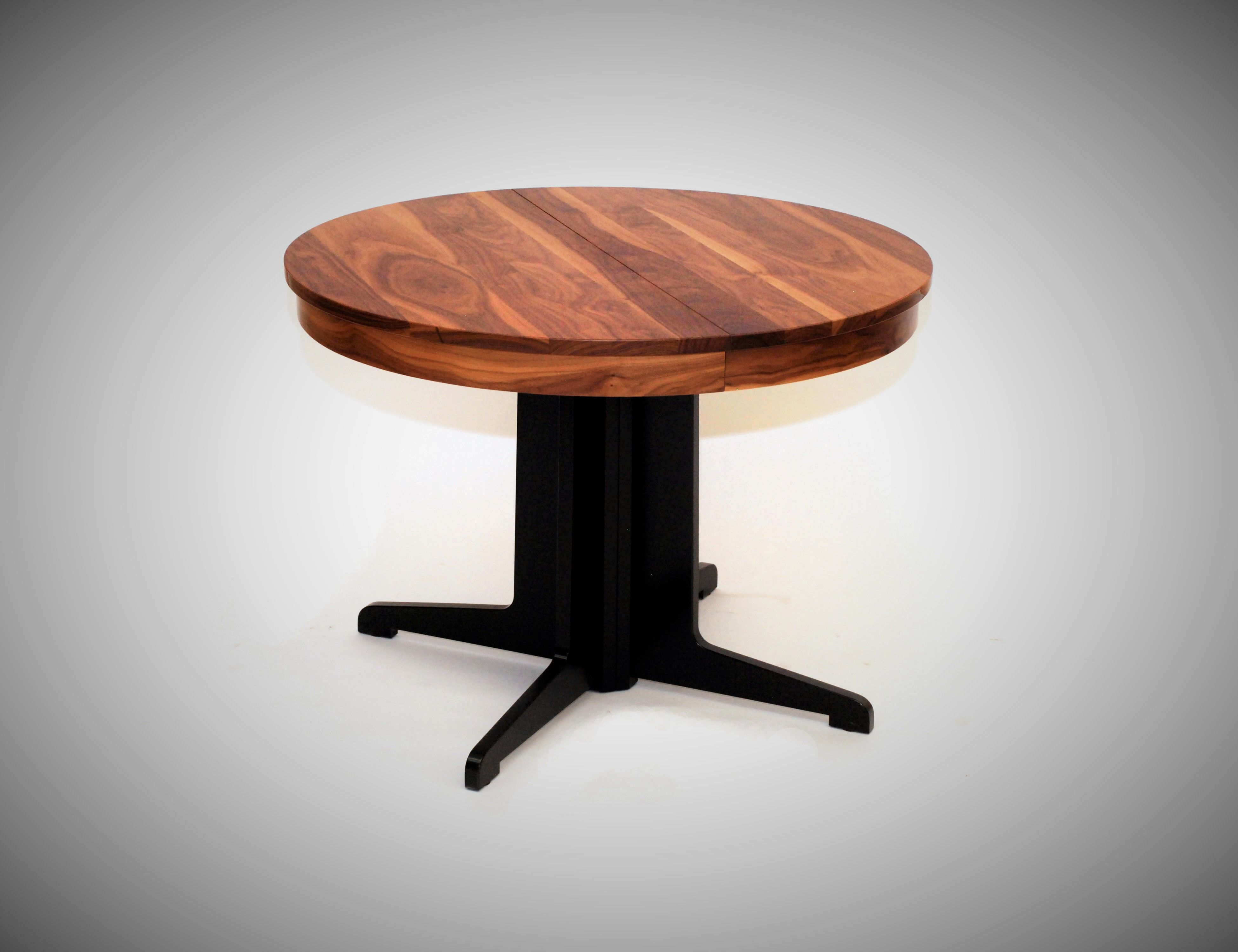 Custom made lotus round extendable dining table