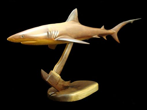 Custom Made Reef Shark Sculpture