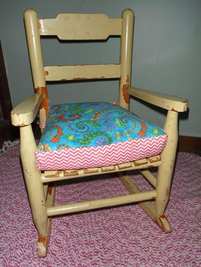 Custom Made Chair Cushion For Jolene's Baby Chair