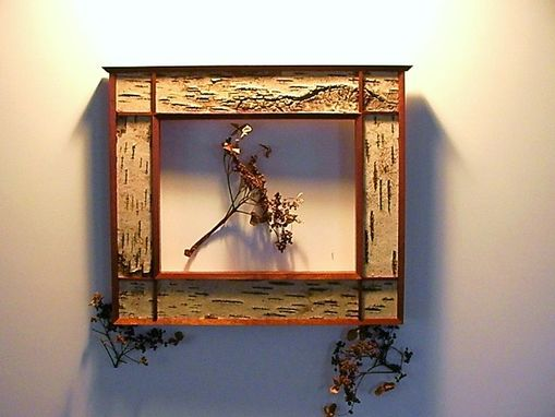 Custom Made Flw Birch Bark Frame