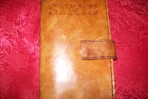 Custom Made Custom Leather Pocket Day Planner With Personalization