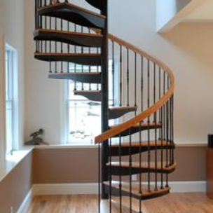 Forged Iron Spiral Stair By