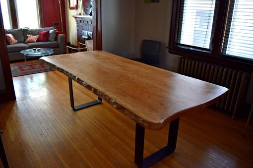 Custom Made Live Edge Dinning Table