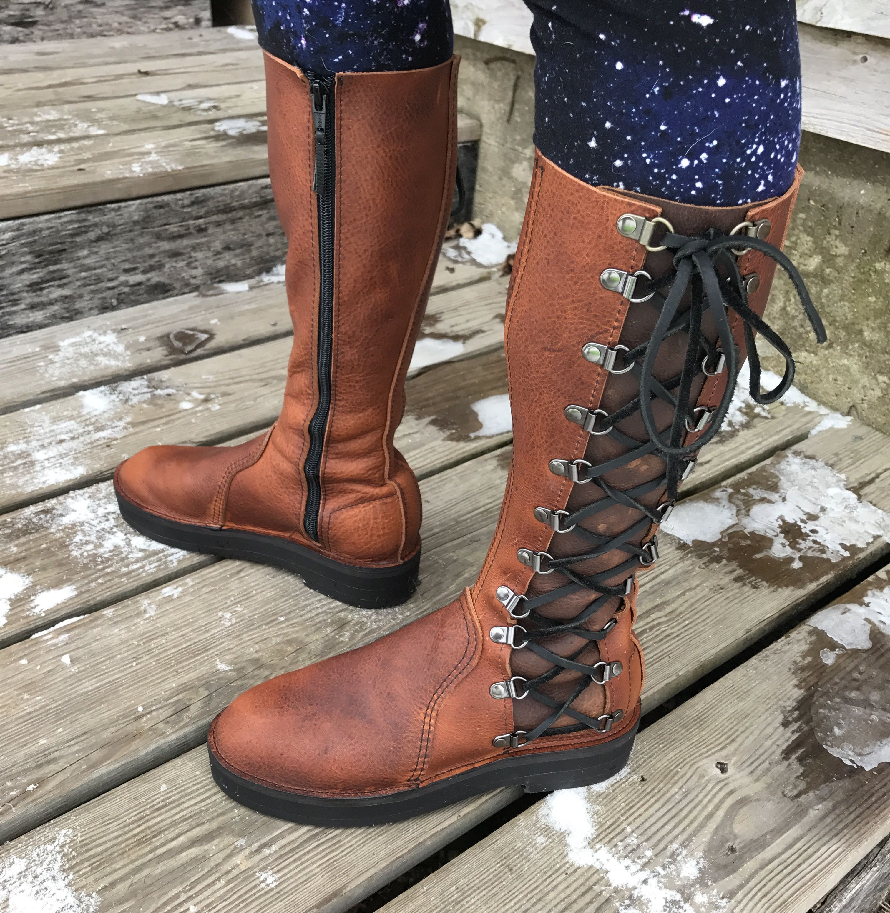 Buy Hand Made Victorian Steampunk Womens Boot Style, made