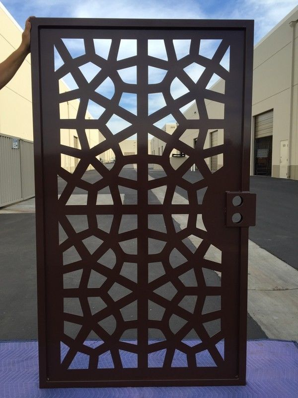 Buy a hand made metal gate contemporary walk pedestrian