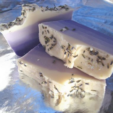 Custom Made Lounging Lavender Bar Soap