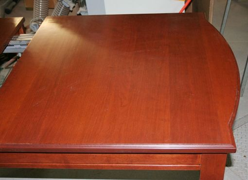 Custom Made Federal Style Large Cherry Dining Table