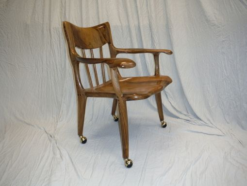 Custom Made Lyre Office Chair