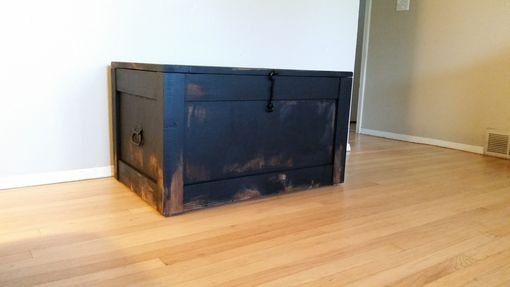 Custom Made Barnwood, Trunks, Chests, Steamer Trunk, Trunk Coffee Table, Storage Trunk, Wooden Trunk