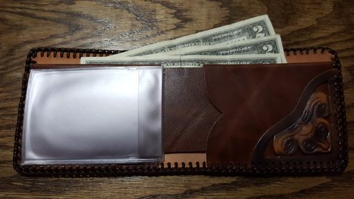 Custom Made Masonic Bi Fold Wallet