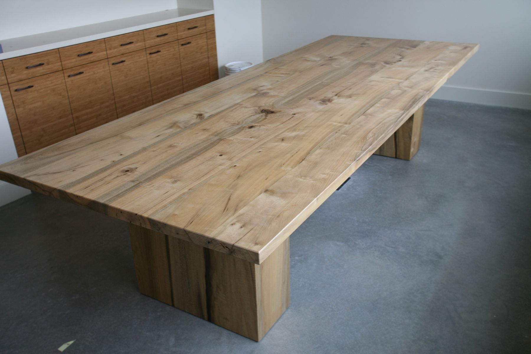 Handmade 10 Myrtle Hardwood Conference Table By Fix