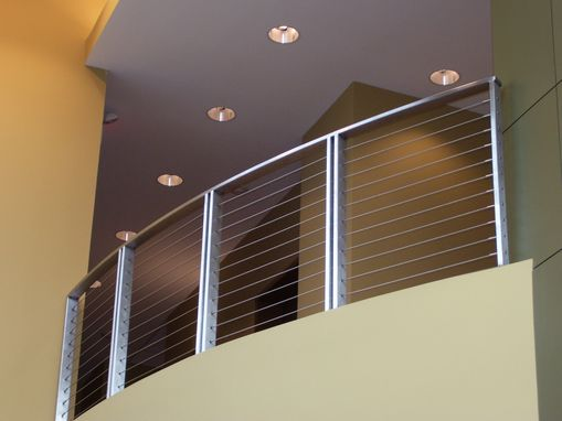 Custom Made Stainless Steel Cable Balcony Rail