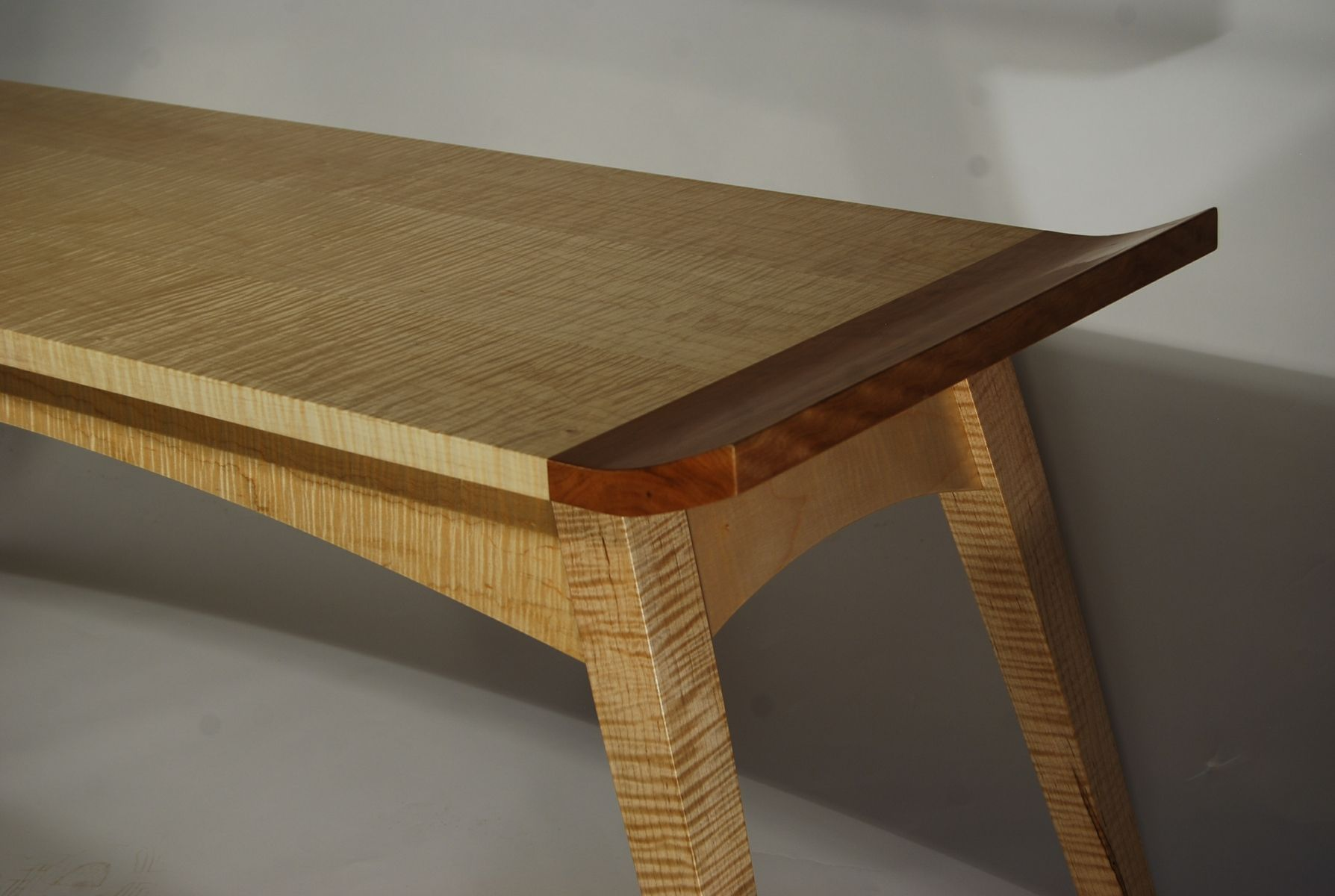 cherry end tables. Custom Made Curly Maple \u0026 Cherry Coffee Table End Tables