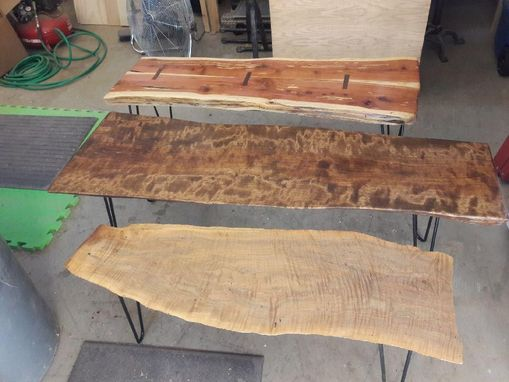 Custom Made Live Edge Coffee Tables