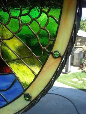 Custom Made Midieval Dragon - Stained Glass