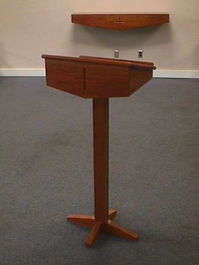 Custom Made Cherry Altar And Lectern