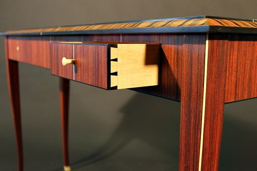 Custom Made Art Deco Console Table
