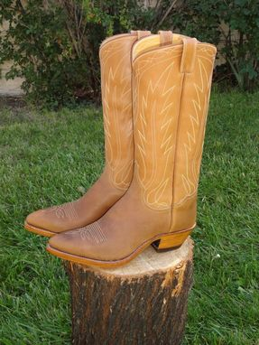 Custom Made Working Cowboy Boots