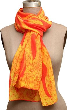 Custom Made Fire, Walk With Me, Border Scarf