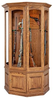 Custom Made Gun Cabinet.