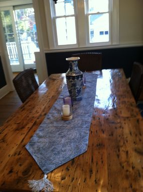 Custom Made Reclaimed Barnwood Dining Room Table