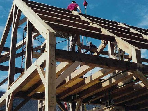 Custom Made Timber Frame Homes ~ North Carolina