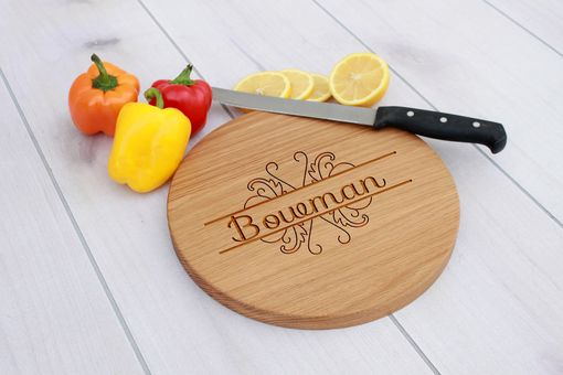 Custom Made Personalized Cutting Board, Engraved Cutting Board, Custom Wedding Gift – Cbr-Wo-Bowman