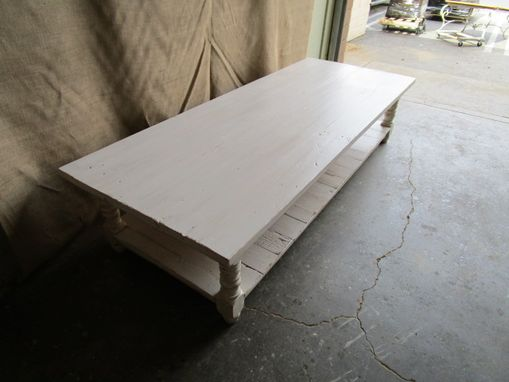 Coffee Table Made From Reclaimed Wood In The Usa