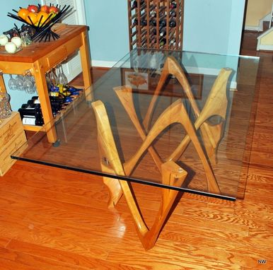 Custom Made Boomerang Dining Table