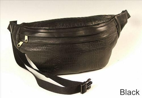 Custom Made Leather Fanny Pack